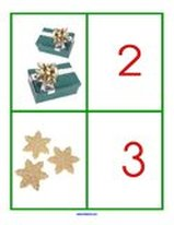 Christmas number set match