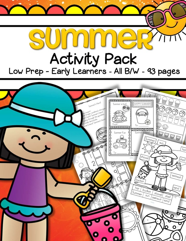 Summer theme activities and printables for Preschool, Pre ...