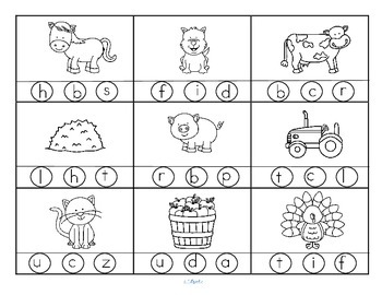 Farm animals theme activities and printables for preschool and ...