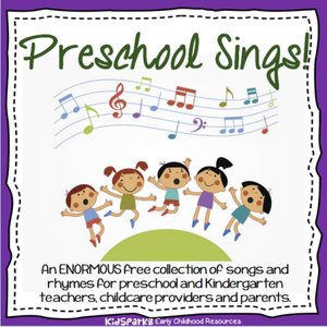 A free collection of songs and rhymes for preschool and kindergarten children.