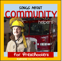 Songs and rhymes about Community Helpers for preschool and kindergarten