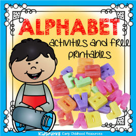 Alphabet activities and free printables for preschool