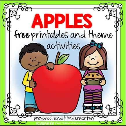 Apples preschool theme