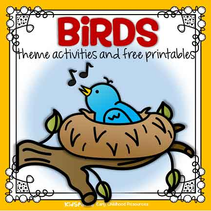 Birds theme activities for preschool and kindergarten