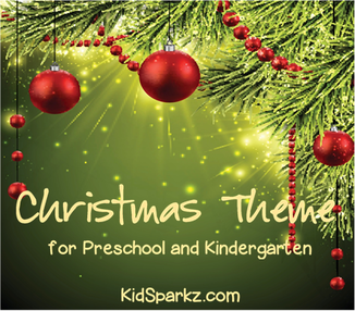 Christmas theme activities and free printables for preschool and kindergarten