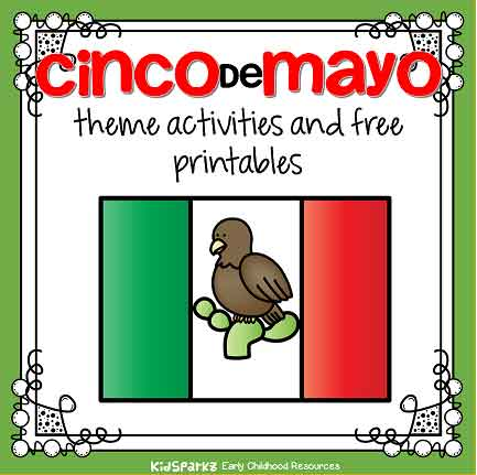 picture relating to Cinco De Mayo Printable Decorations called Cinco de Mayo concept routines and printables for preschool