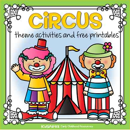 Circus theme activities for preschool