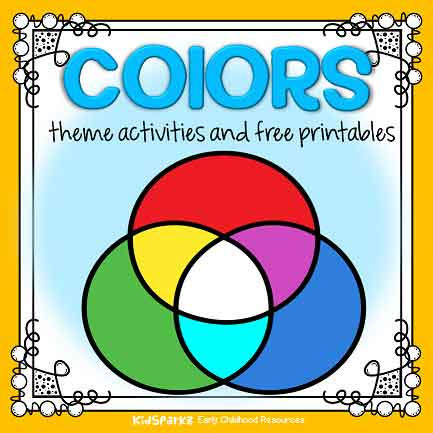 image relating to Printable Colors named Hues topic pursuits and printables for preschool and