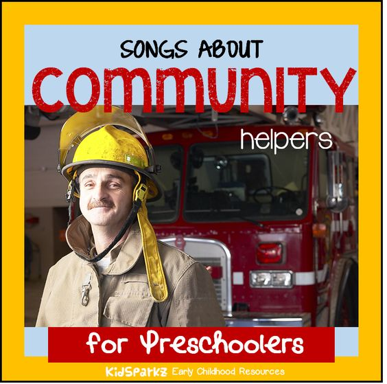songs and rhymes about community helpers