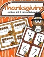 Thanksgiving free number flashcards