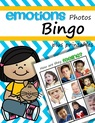Emotions bingo game using photos,  plus supporting printables.