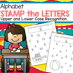 Alphabet - stamp or circle the letters