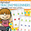 Alphabet tracing pages, full alphabet, upper and lower case