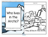 A Lift-the Flap Arctic animals  emergent reader, plus puppets and vocabulary.