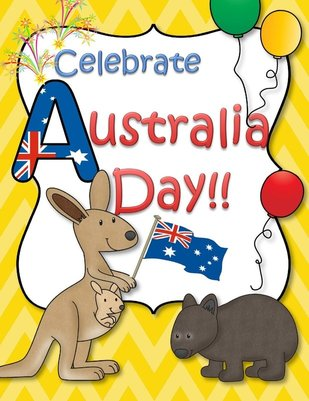 Australia Day activities at KidSparkz.com