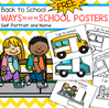 BACK to SCHOOL Transportation Posters Oral Language