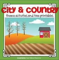 City and Country theme activities