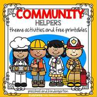 Community Helpers theme activities
