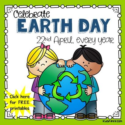 Mant free printables and activities to use for Earth Day for preschool, pre-K and Kindergarten
