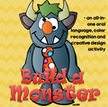 Build a Monster - a small group game to encourage oral language, color recognition and creative activity