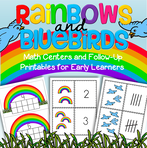 This is a collection of colorful centers to make, plus supporting printables, to explore and develop the skills of counting and creating sets.