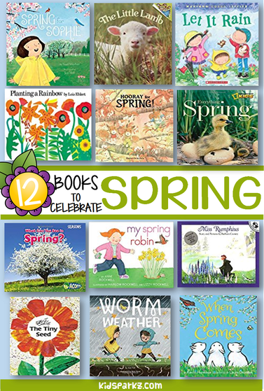 Spring books for preschool and kindergarten