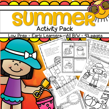 Summer activity pack no prep