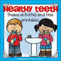 Healthy teeth theme activities