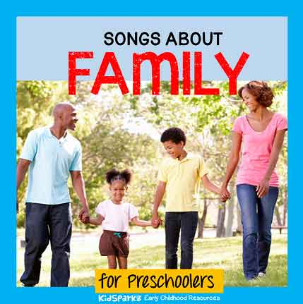 songs and rhymes about families for preschool