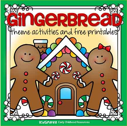 Gingerbread preschool theme for December