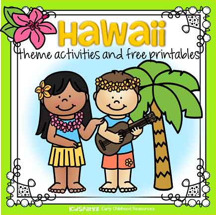 Hawaii theme activities for preschool free
