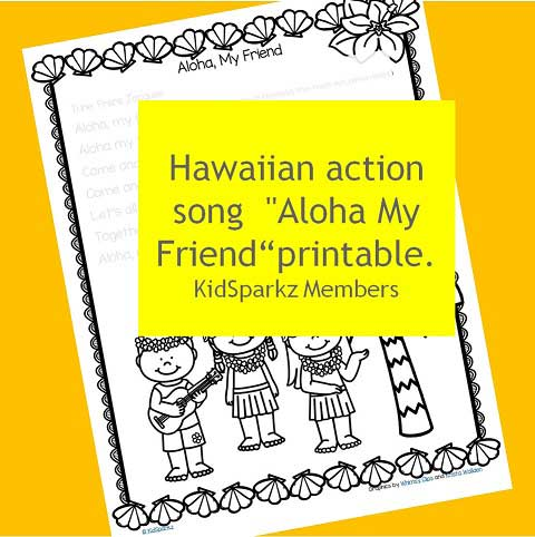 Hawaiian action song