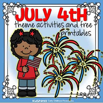 July 4th theme activities