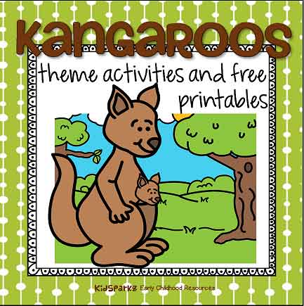 Kanaroos theme activities at KidSparkz