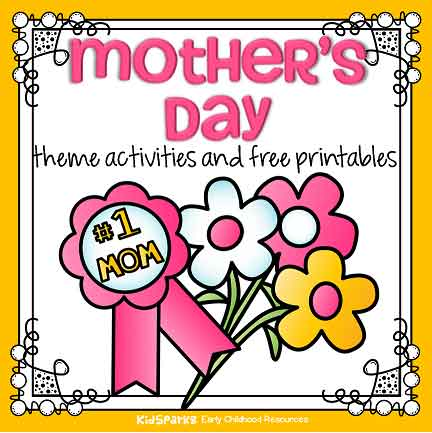 picture relating to Free Printable Mother's Day Games for Adults named Moms Working day concept actions and printables for preschool