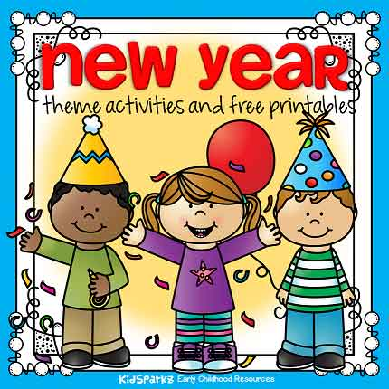 New Year preschool theme for January