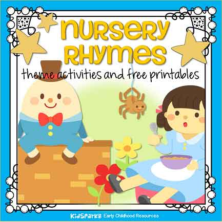 Nursery Rhymes Theme Activities And Printables For Preschool