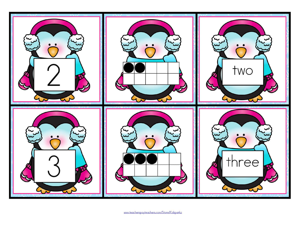 Winter theme activities and printables for Preschool and ...