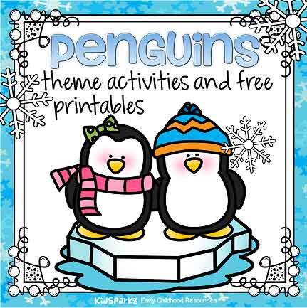 picture relating to Printable Penguins identified as Penguins topic actions and printables for preschool and