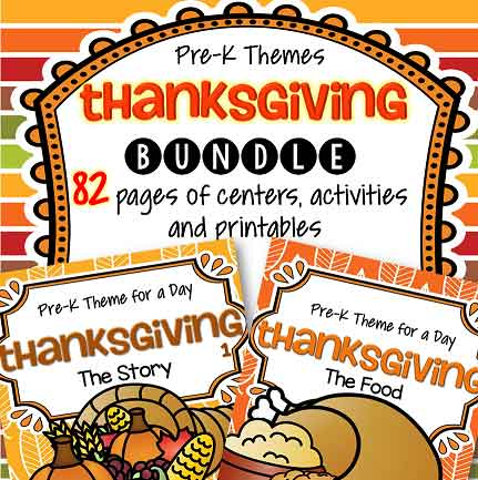 Thanksgiving theme for preschool