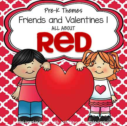 Friends and Valentines 1 - The Color Red
