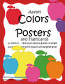 APPLES  colors posters - 11 colors, plus flashcards and pages to color