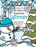 Winter theme pack for preschool - This is a comprehensive set of printables - make hands-on, interactive activities and learning games. 125 pages