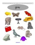 Free color grey preschool printables