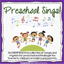 Free songs and rhymes for preschool and kindergarten