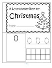 Christmas theme numbers 1-10. Make a reader.
