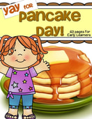 Celebrate Pancake Day or any day with these engaging and fun activities