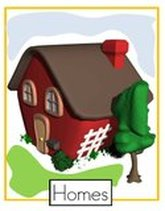 Homes preschool theme poster