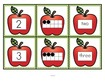 Apples number matching activity