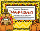 Thanksgiving cut and paste number printables 0-20.